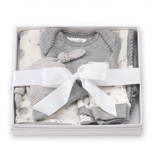 Mud Pie Counting Sheep 4PC Gift Set (0-3 Months)